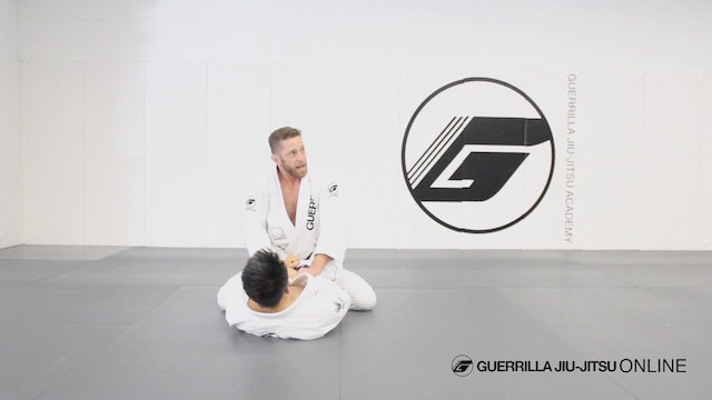 Grip Fight from Top Closed Guard