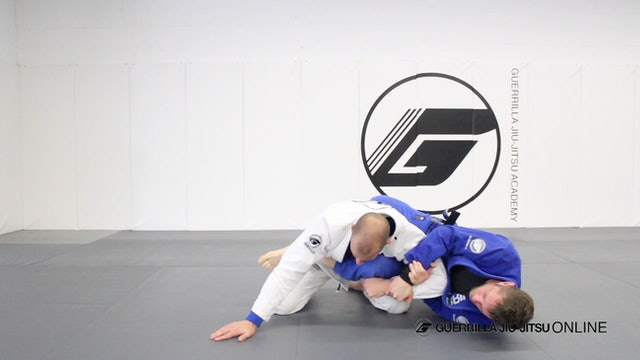 Knee Shield Kimura System Part 3 - Back Take