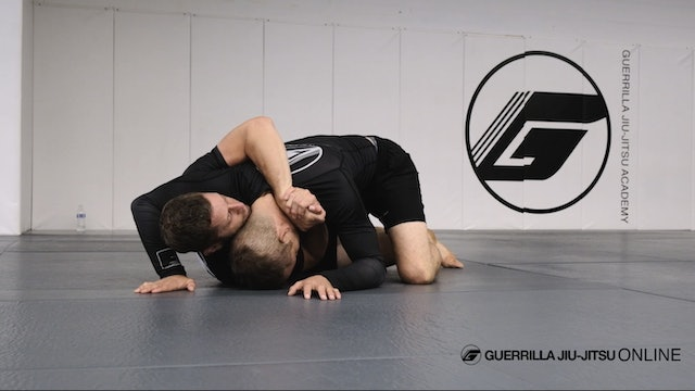 Under Hook Clinch - Part One - Half Guard Shrug to Back