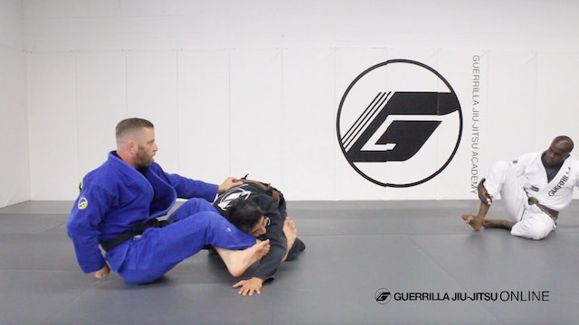 Omoplata Setup From Closed Guard Part 3 - Straight Armbar With Legs