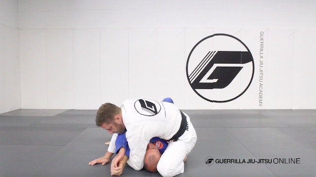 Side Control - Paint Brush Americana to S Mount Armbar