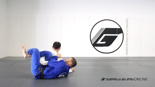 Long Step Pass the X and Single Leg X Guard to Omoplata