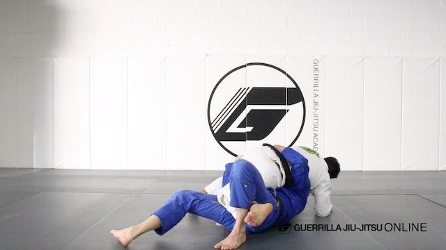 Lucas Leite Half Guard Entry and Sweep to Rude Mount