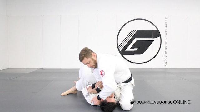 Cross Choke When Opponent Blocks S-Mount Part 2
