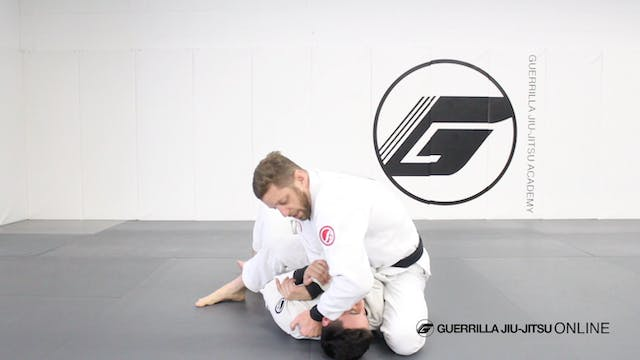 Cross Choke When Opponent Blocks S-Mo...