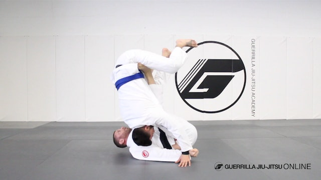 Lasso Guard to De la Riva Overhead Sweep