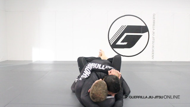 Closed Guard - Under Hook Control to Belly Flop Sweep