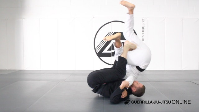 Dynamic Lasso Guard Part 2 - Overhead DLR Sweep When Opponent Stands