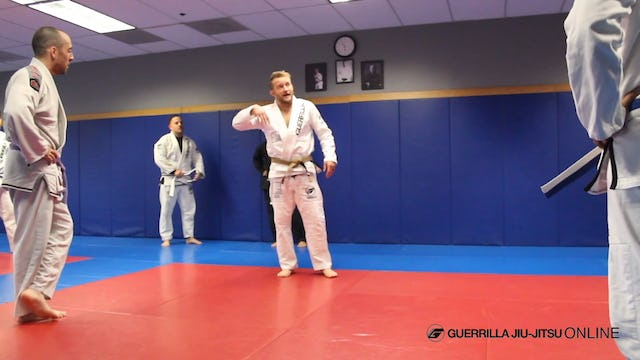 Single Leg Defense When Opponent Has High Posture