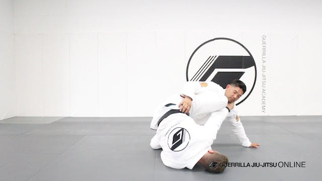 Knee Shield Half Guard - Post Kill Sweep