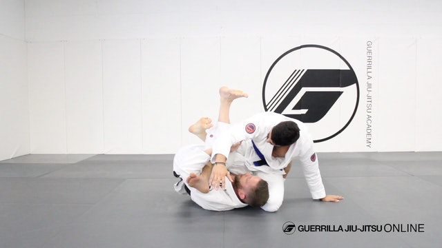 Deep Half Guard - Waiter Sweep