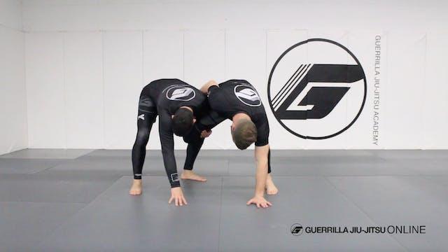 Counter the Single Leg to Omoplata