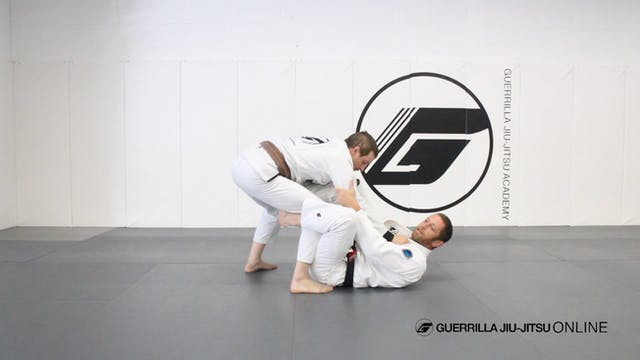 Basic De la Riva Guard Pull Drill
