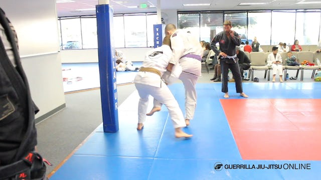 Basic Single Leg Takedown and Single Leg Defense