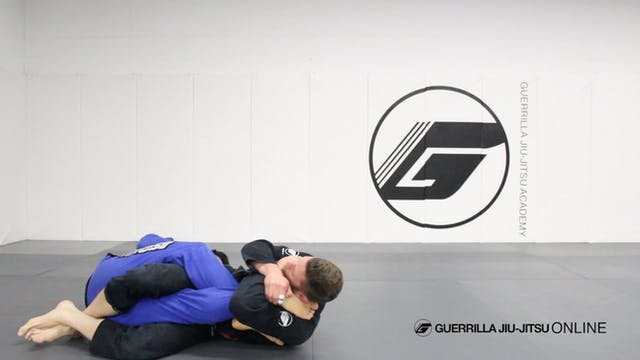 X-Guard - Knee Bar with Gi