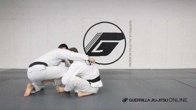 Dynamic Lasso Guard Part 3.5 -  De la Riva Sit Up Sweep From Low Framework