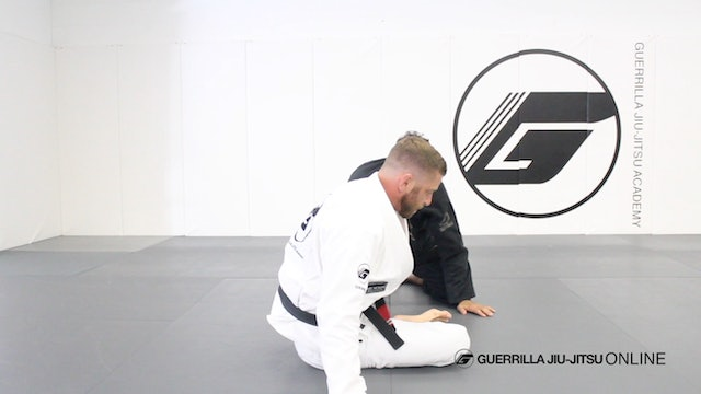 Knee Shield - Escape Half Guard Smash to Collar Drag