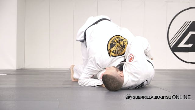 Butterfly Sweep To Guillotine Finish