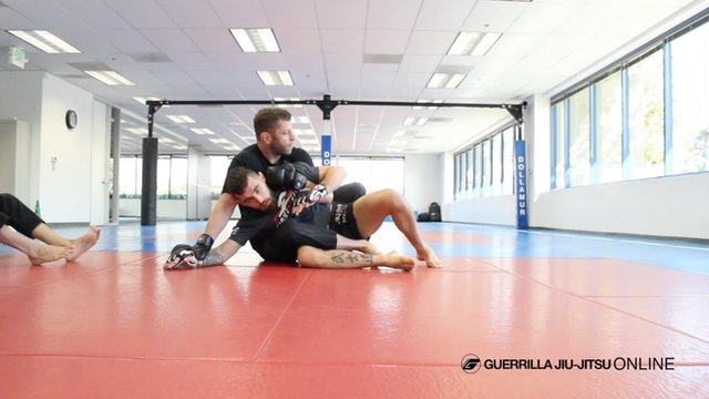 Knee Shield Half Guard - Counter Strikes to D.O.D Back Control