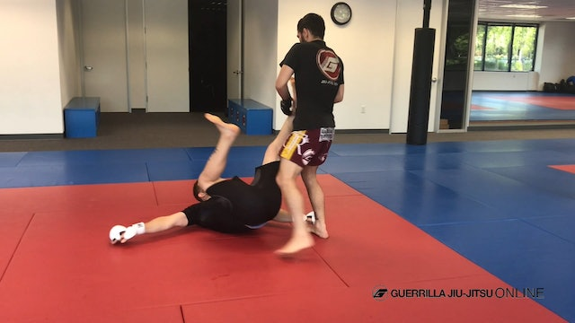 Takedown to Sit-Out-Turn-In and Peak-Out Flow