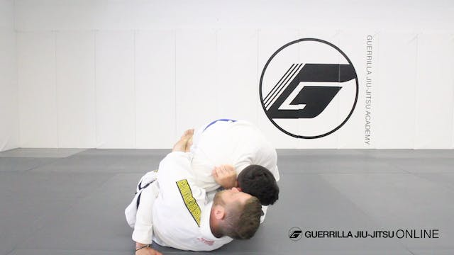 Half Guard: Hip Clamp Paper Cutter Choke