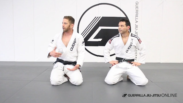 Defend Strikes With Damage Control to Sit Up Sweep/Kimura