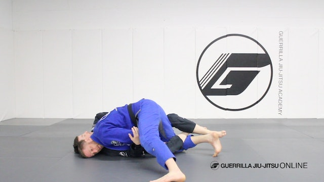 Fundamental Connections - Half Guard Left Pass to Under Hook to Kimura