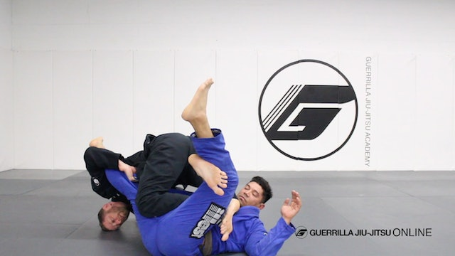 X-Guard - Back Roll Sweep with Gi