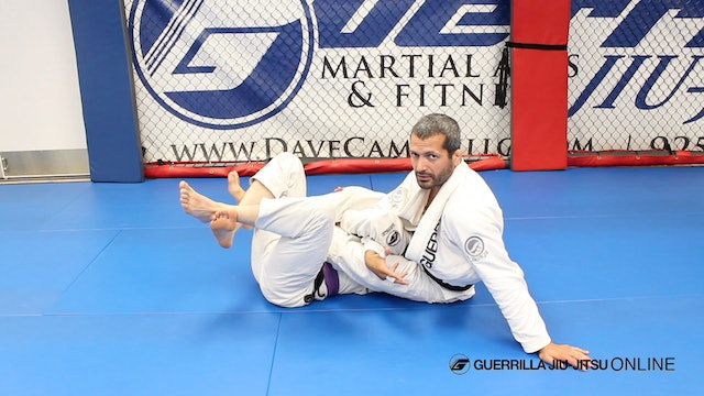 Attack the Far Side Armlock from Half Guard