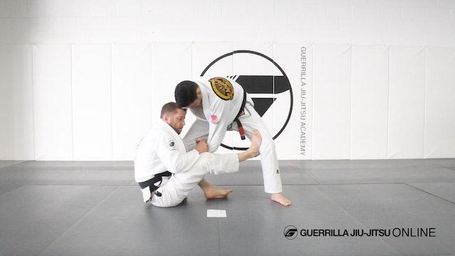 Dynamic Lasso Guard Part 3 - To De la Riva Sit Up Sweep Death Pass Connection