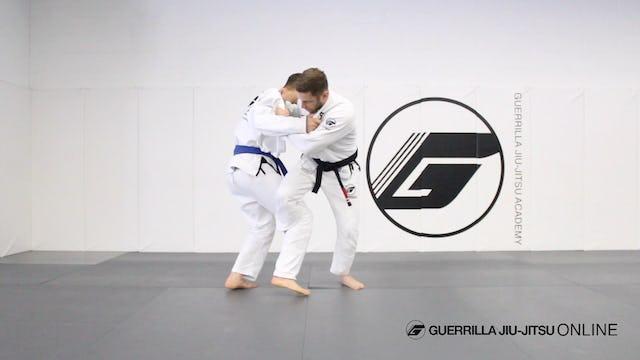 Judo - Osoto Gari for Jiu-Jitsu