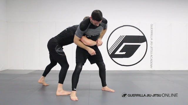 Switch Foot Drop Takedown to Calf Slicer