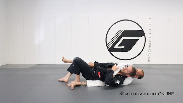 Basic Back Escape - Part 1 - To Side Control