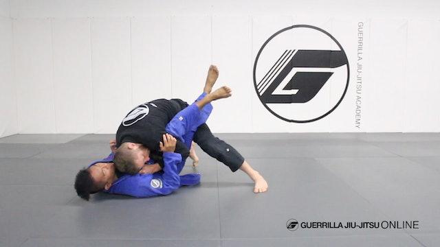 Half Guard Knee Shield Pass Part 2 - Leg Drag