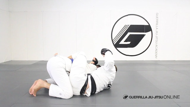 Combatives - Closed Guard Underhook Clinch to Belly Flop Sweep