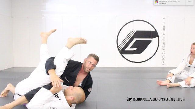 Closed Guard - Sleeve Drag System - Troubleshooting Opponent Locking Your Hips