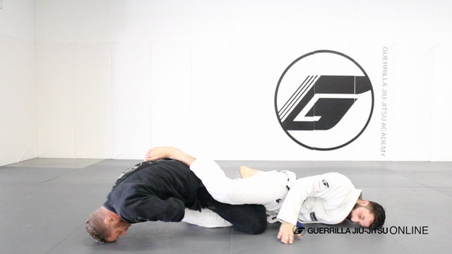 Basic Straight Ankle Lock - Belly Down Finish When Opponent Clears Hip
