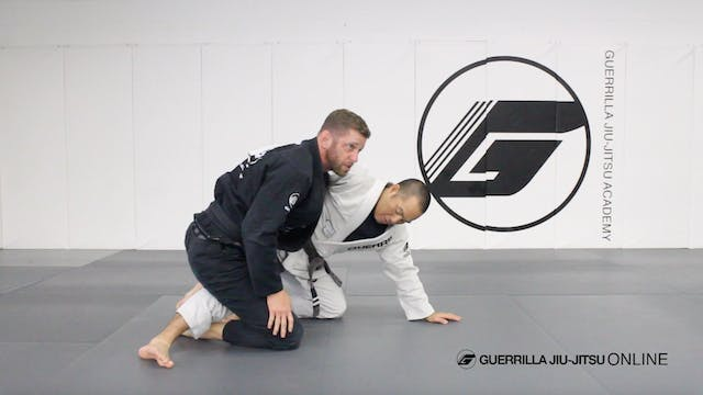 Escaping Knee on Belly Part 1.5 - Tro...