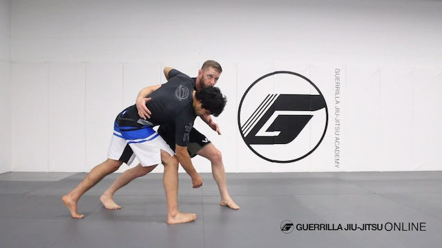 O Uchi Gari Bump to Ankle Pick