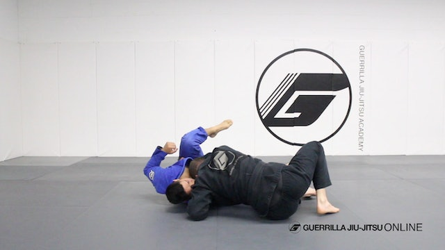 Reverse de la Riva Guard - Long Step Pass