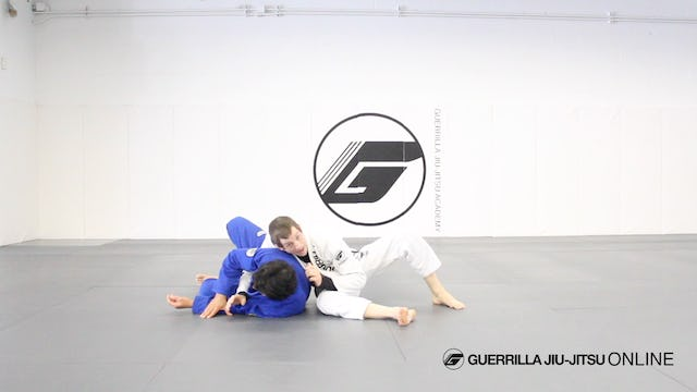 Side Control Long Step to the Back