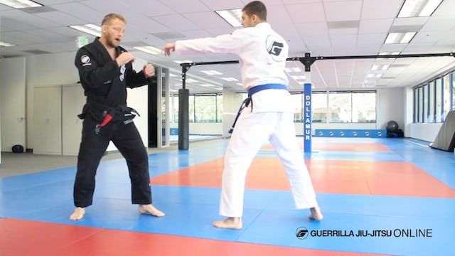 Striking to Takedowns - Proactive vs reactive setups with James Terry