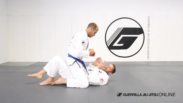 Defend Strikes and Escape Mount to Butterfly Guard