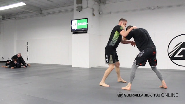 Matt Darcy Gets Some Takedown Only Rounds In