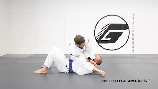 Cross Choke When Opponent Blocks S-Mount Part 1