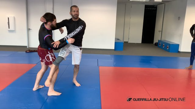 Sticky Foot Part 3 - Osoto Gari Throw