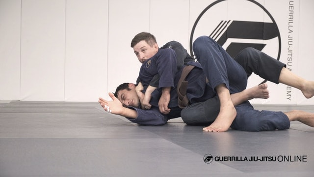 Knee Scrape Back Take With Simple Collar Choke Finish
