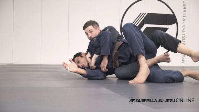 Knee Scrape Back Take With Simple Col...