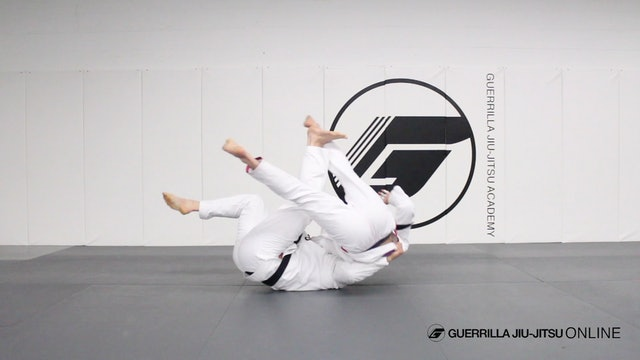 Using the 2 on 1 to Counter Cross Lapel Gripping