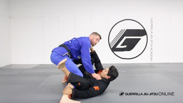 Passing De la Riva Guard in Depth - Knee Cut Pass